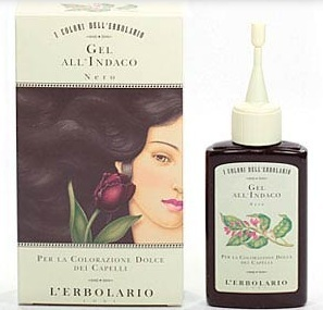 L'Erbolario Il Colore Gel All' Indaco Nero Gel Schwarz 70 ml