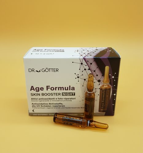 Dr. Götter Age Formular Skin Booster NIGHT 10x2 ml